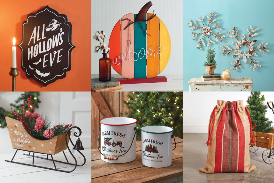 2021 Fall and Holiday Home Decor Features